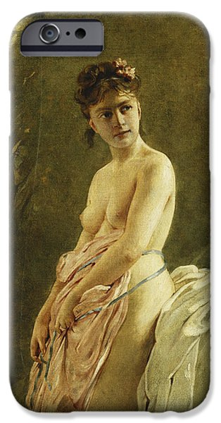 The Bather IPhone Case by Charles Chaplin