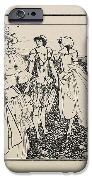 The Bathers IPhone Case by British Library