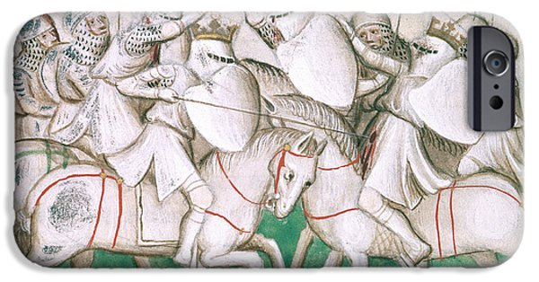 The Battle Of Crecy IPhone Case by British Library