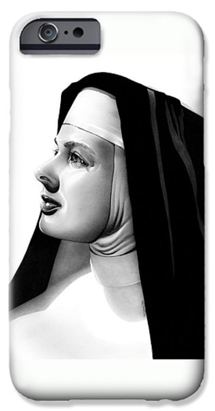 The Bell's Of St. Mary's Sister Mary Benedict IPhone Case by Fred Larucci