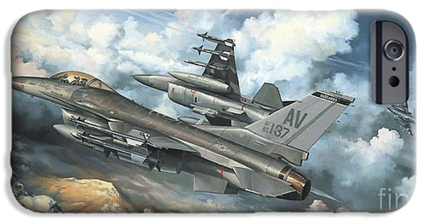 The Buzzard Boys From Aviano IPhone Case by Randy Green