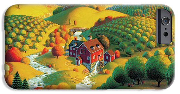 The Cider Mill IPhone Case by Robin Moline