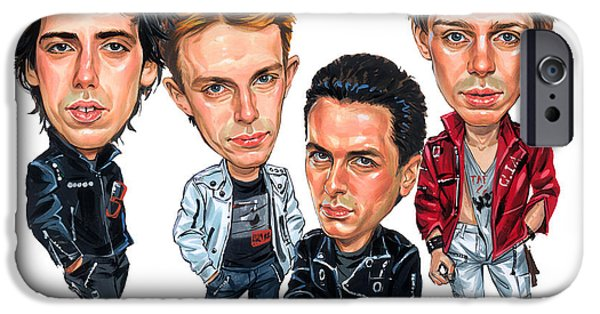 The Clash IPhone Case by Art