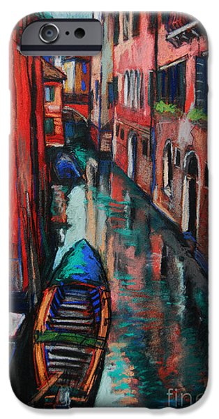 The Colors Of Venice IPhone Case by Mona Edulesco