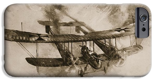 German Biplane From The First World War IPhone Case by English School