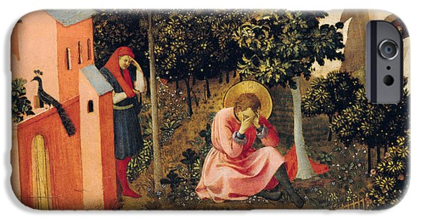 The Conversion Of Saint Augustine IPhone 6s Case by Fra Angelico