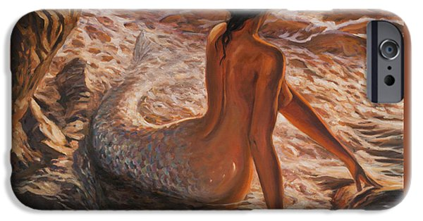 The Daughter Of The Sea IPhone 6s Case by Marco Busoni
