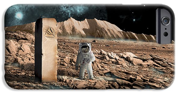 The Discovery IPhone Case by Marc Ward