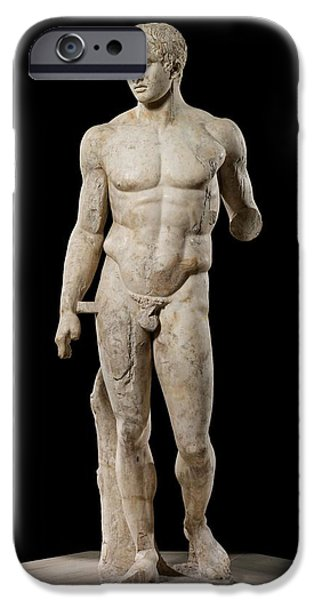 The Doryphoros Of Polykleitos IPhone Case by Roman School