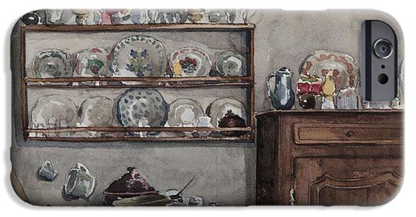 The Dresser  IPhone Case by Henri Duhem