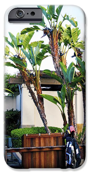 The Early Arrival At Montecito Country Club IPhone Case by Barbara Snyder