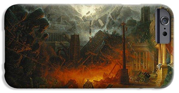 The Edge Of Doom IPhone Case by Samuel Colman