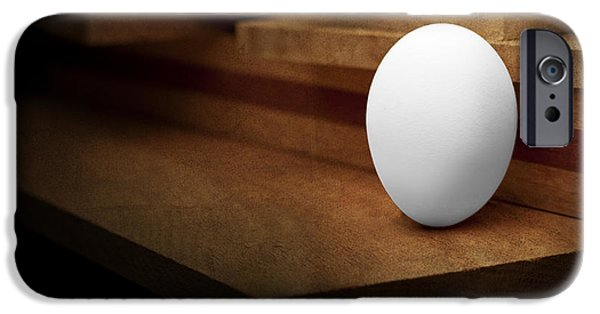 The Egg IPhone Case by Tom Mc Nemar