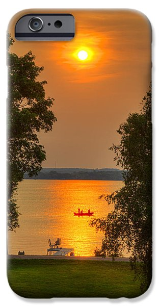 The End Of A Perfect Day IPhone Case by Wayne Moran