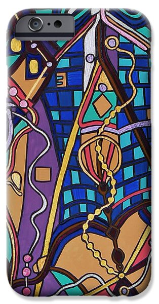 The Exam IPhone Case by Barbara St Jean
