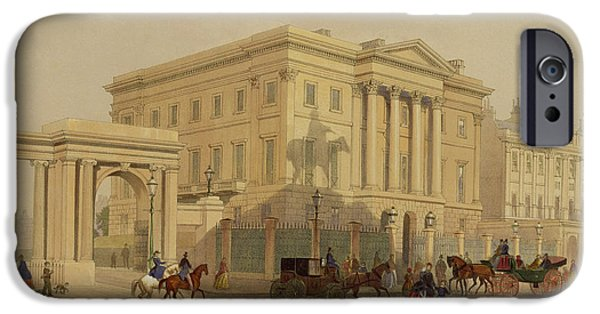 The Exterior Of Apsley House, 1853 IPhone 6s Case by English School