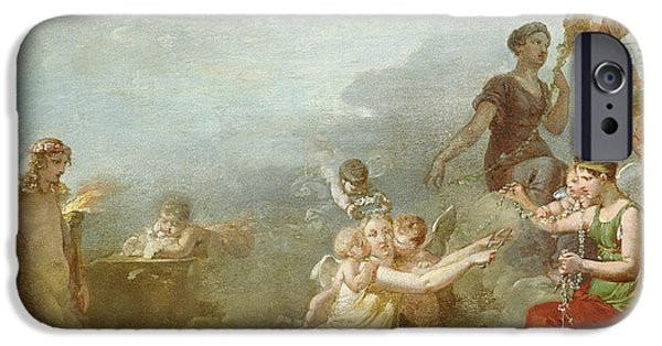 The Fates IPhone Case by Jean Baptiste Mallet
