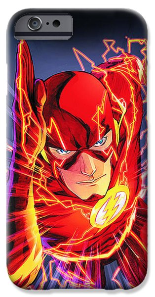 The Flash IPhone 6s Case by FHT Designs