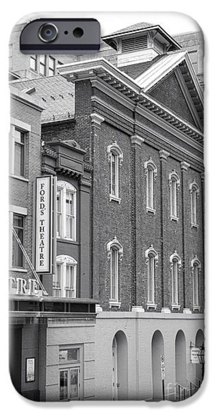 The Ford Theater  IPhone Case by Olivier Le Queinec
