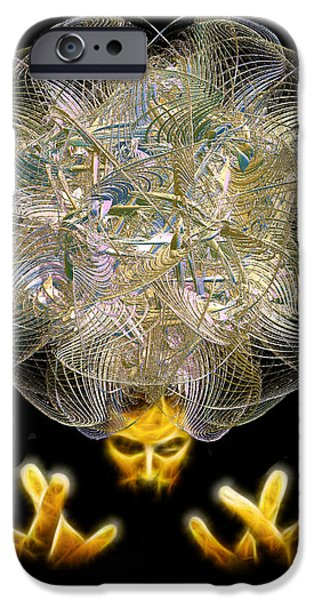 The Fractal Artist IPhone Case by Michael Durst