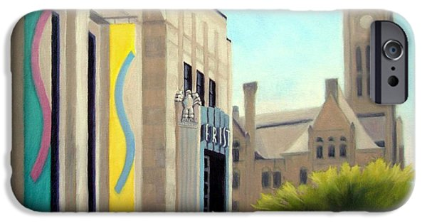 The Frist Center IPhone Case by Janet King