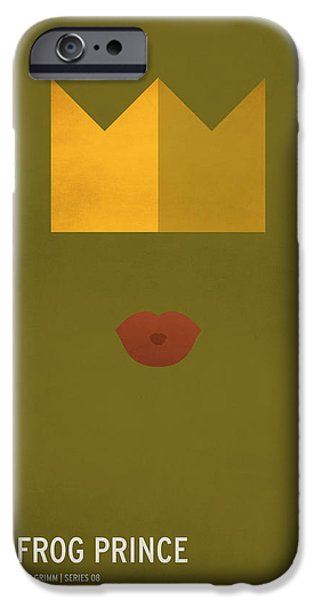 The Frog Prince IPhone Case by Christian Jackson
