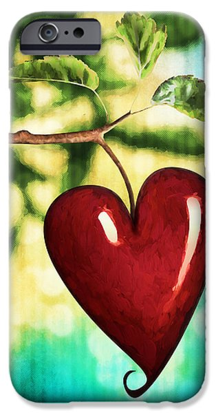 The Fruit Of The Spirit IPhone Case by April Moen
