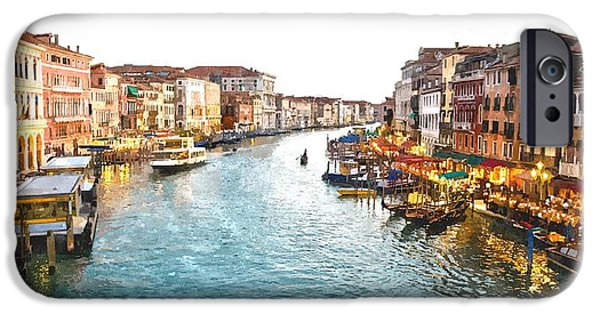 The Grand Canal Of Venice IPhone Case by Gianfranco Weiss