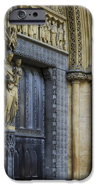 The Great Door Westminster Abbey London IPhone 6s Case by Tim Gainey