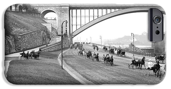 The Harlem River Speedway IPhone 6s Case by Detroit Publishing Company