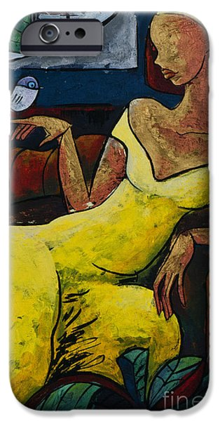 The Healing Process - From The Eternal Whys Series  IPhone Case by Elisabeta Hermann