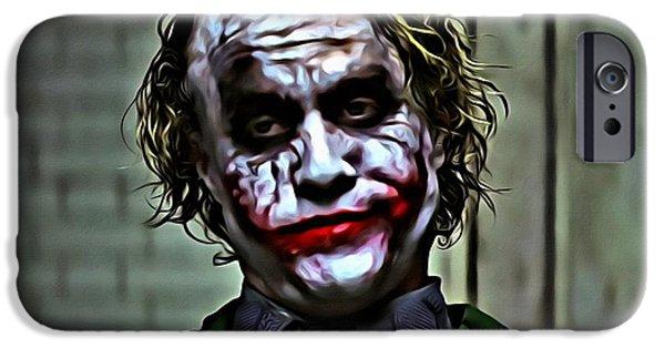 The Joker IPhone 6s Case by Florian Rodarte