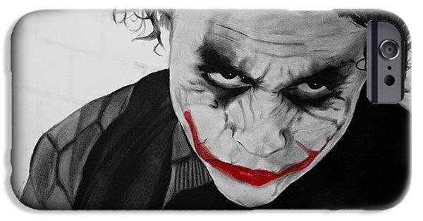 The Joker IPhone 6s Case by Robert Bateman