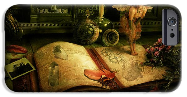 The Journal IPhone Case by Cassiopeia Art