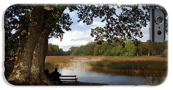 The Lake At Emo Court, Emo Village IPhone Case by Panoramic Images