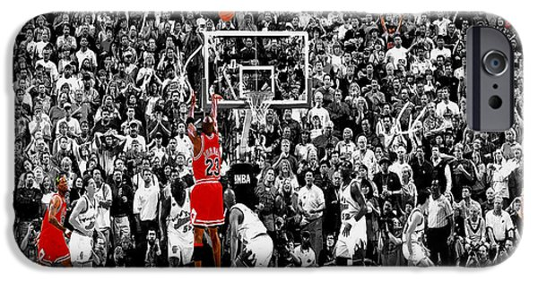The Last Shot 4 IPhone Case by Brian Reaves