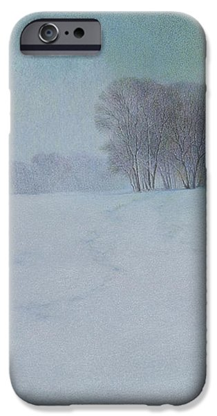 The Last Snow IPhone Case by Lynn Bywaters