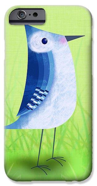 The Letter Blue J IPhone 6s Case by Valerie Drake Lesiak