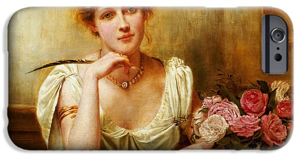 The Letter  IPhone Case by George Goodwin Kilburne