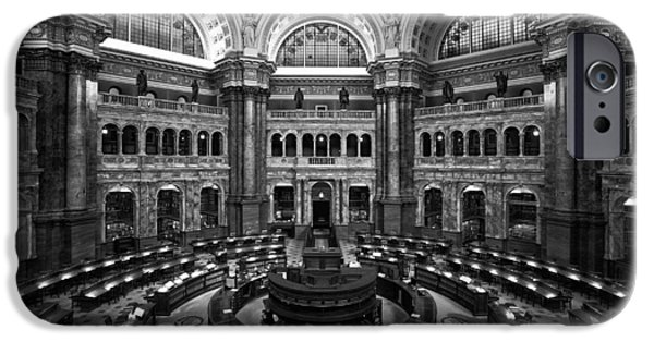 The Library Of Congress IPhone Case by Mountain Dreams