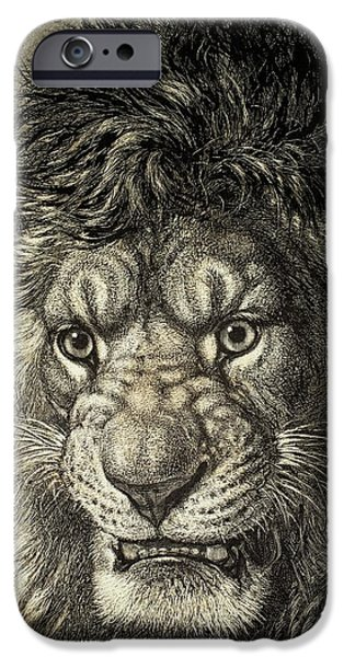 The Lion IPhone Case by European School