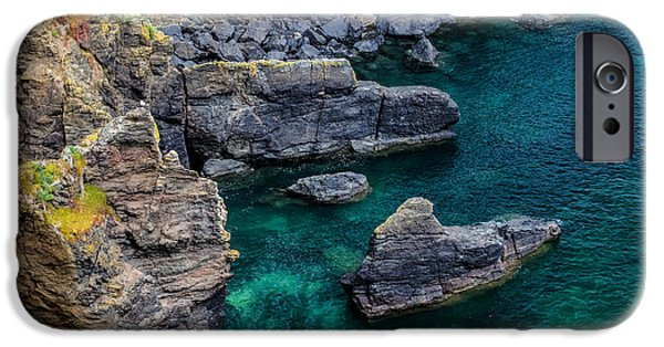 The Lizard Cornwall IPhone Case by Martin Newman