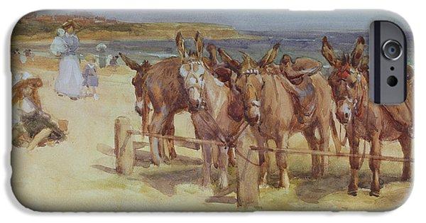 The Longsands, Tynemouth, Northumberland IPhone Case by John Atkinson