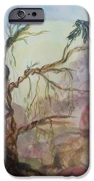 The Magic Tree IPhone Case by Ellen Levinson