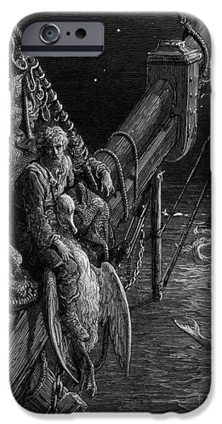 The Mariner Gazes On The Serpents In The Ocean IPhone 6s Case by Gustave Dore
