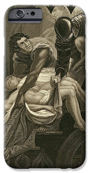 The Murder Of The Two Princes IPhone 6s Case by James Northcote