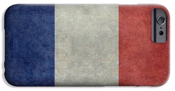 The National Flag Of France IPhone Case by Bruce Stanfield