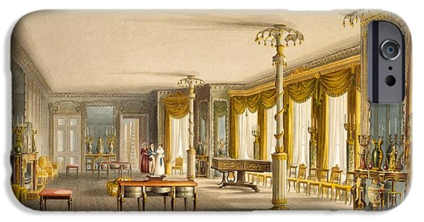 The North Drawing Room, Or Music Room IPhone Case by English School