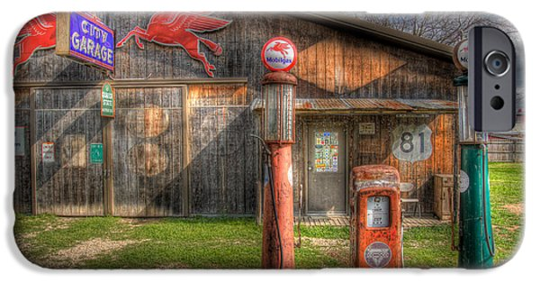 The Old Service Station IPhone 6s Case by David and Carol Kelly