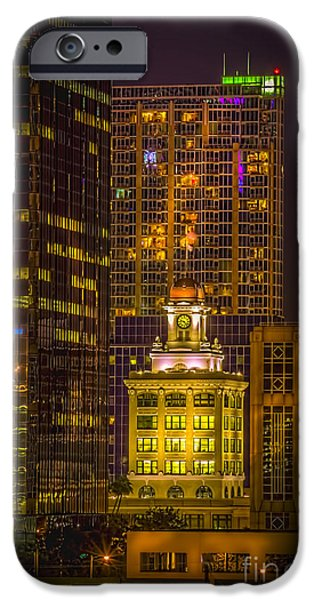 The Old Tampa City Hall IPhone Case by Marvin Spates